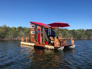The Happy Crabby - Floating Tiny Home in Paradise, As Seen in Coastal Living