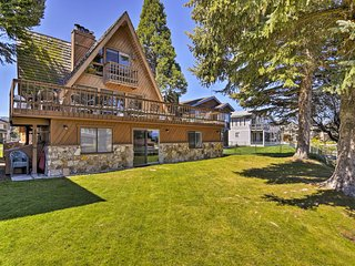 Waterfront South Lake Tahoe Home w/Private Dock!