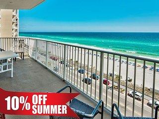 20% OFF Summer! GULF VIEW DLX Beach Condo*Resort Pool/Spa Gym +FREE VIP Perks