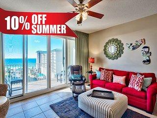 Stunning GULF VIEW Condo * Seascape Resort, Pool, Sauna, Gym + FREE VIP Perks