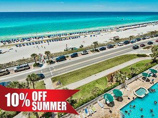 GULF VIEW Majestic Sun Condo * Beach Resort Pool/HotTub, Gym + FREE VIP Perks