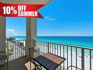 10-20% OFF Summer! GULF VIEW Updated Beach Condo*Resort Pool/Spa + FREE Perks