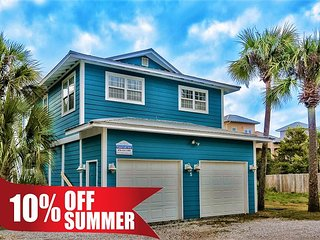 Summer Avail! Near Beach + FREE Fishing, Dolphin Cruise, PaddleBoarding, Golf