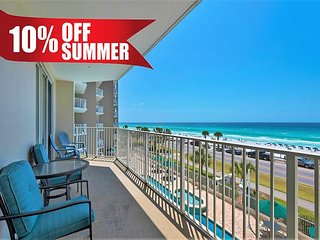 Unobstructed GULF VIEW Beach Condo *Resort Pool/HotTub, Gym + FREE VIP Perks!