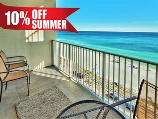 GULF VIEW Majestic Sun Condo * Seascape Resort Pool/HotTub + FREE VIP Perks!