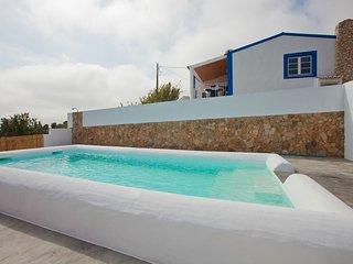 Casa Azul da Relva, piscina, natureza
