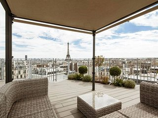 Spacious Rooftop Copernic apartment in 16eme - Bois de Boulogne - Trocadero with
