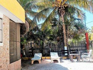 The Hacienda Lodge near the beach
