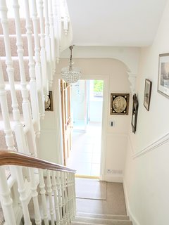 Staircase leading up to the bedrooms - bright and airy.