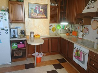4 room apartment 110 m2,  kitchen, bathroom, toilet: max 8 guests