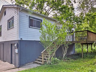 NEW! 'The Creek Cottage' 1 Mile from DT Asheville!