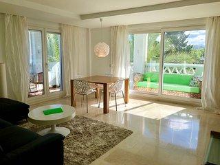 First line beach apartment in Las Canas Beach