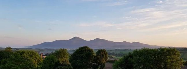 A view of the Mournes
