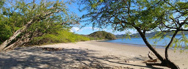 Beautiful beach only a 40 minutes away from our cottage. It's a private refuge