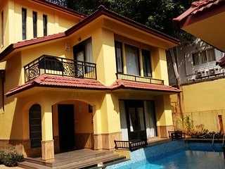 3 Bedroom Luxury Villa in Calangute, by Book My Goa