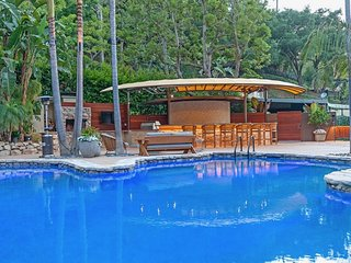 Mulholland Contemporary Compound with 3 guest homes, pool, and movie theater