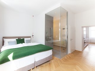 #16 Cube 70 - Dein stilvolles Altbauapartment in Wien (Miniloft, Maximum 2 Pax)