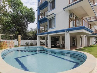 1BR Apartment, 800 m. from Vagator Beach!