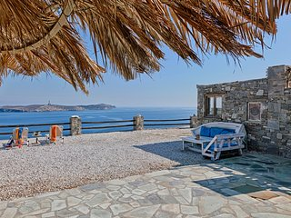 Syros Seaside House, Syros Aegean View