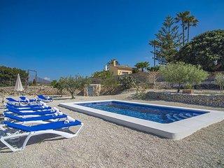Villa Casati en Benissa,Alicante,para 12 huespedes