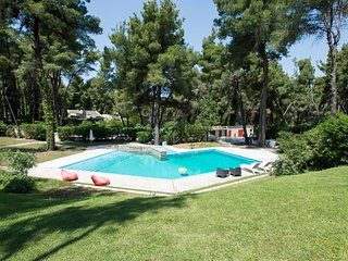 Villa Iris in Sani, with garden and pool by JJ Hospitality