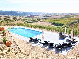 'Villa Mar' Linda Villa, 3 mn da praia, piscina, jacuzzi, vista panorâmica.