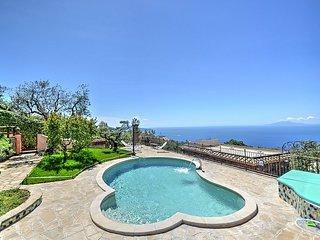 6 bedroom Villa in Sant'Agata sui Due Golfi, Campania, Italy : ref 5311134