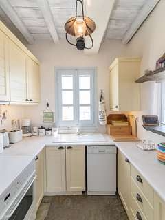 Kitchen on the first floor is fully equipped