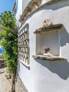 External Tinian architectural detail