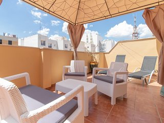 Awesome Terrace One bedroom by the center (C52)