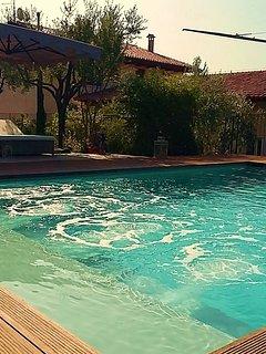 Villa con piscina privata per 6 persone in centro a Verona
