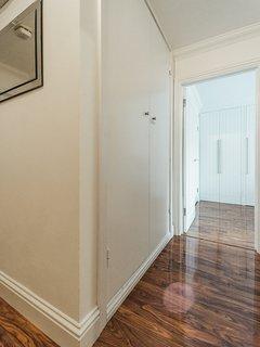 Hallway with entryphone