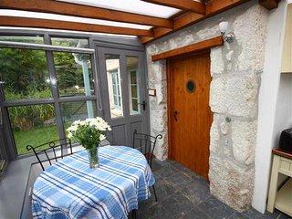 Front door into dining area