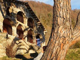 Masia con encanto en el Pirineo Catalan, apartametos rurales