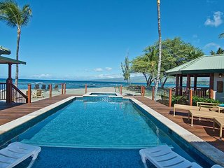 Puako Hylton: Stunning Beach Front Villa with private pool in exclusive area
