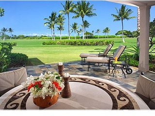Fairway Villa 110C - Charming Villa w/ Hualalai Signature Garden Shower