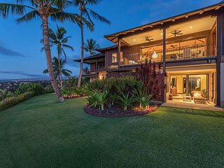 Hualalai Haliipua Villa 104 ~ Updated Luxury Villa with sweeping ocean views