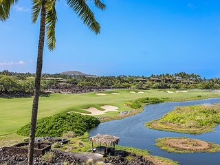 Hualalai  Waiulu Villa 137D~Great Location~Punawai Pond, Golf and Ocean Views