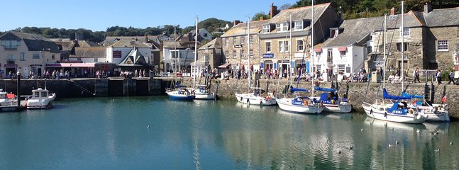 Padstow harbour (1 mile)