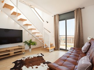 Canet Attic Duplex Beachfront