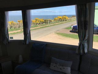 New (2018) self-catering holiday home with panoramic sea views to St Andrews.