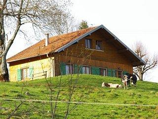 Chalet montagne. Vue panoramique.Randonnee Vosges du Sud. Proche lac GERARDMER