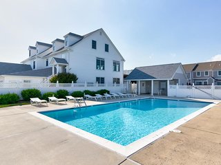 NEW LISTING! Bayfront home w/ decks & a shared pool - walk to beach!
