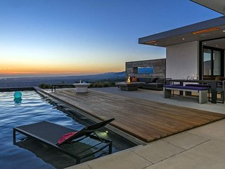 New build in Mission Canyon, mountain & ocean views, private pool - Above It All