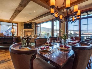 Two-floor Luxury Condo with Ski Valet, Walk to Gondola/Skiing/Shops