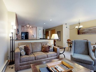 NEW LISTING! Remodeled condo -walk to slopes, enjoy the shared pool & hot tub!