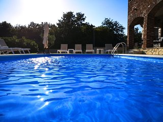 Istrian villa Esen with pool and shared Tennis court