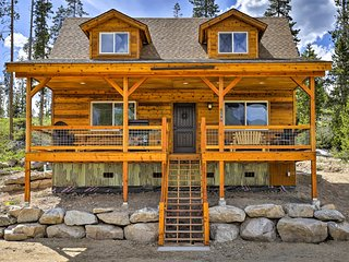 Grand Lake Cabin w/Sweeping Shadow Mtn Lake Views!