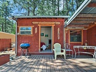'Black Bear Canyon' Ruidoso Home w/ Bunkhouse!