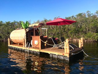 The Dolphin - Eco Friendly Panoramic Floating Cabin